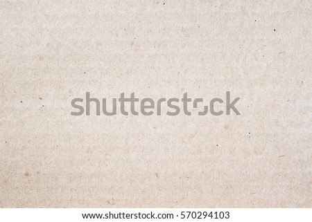 Texture of light brown paper, background for design with copy space text or image.