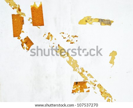 texture of Masking tape - stock photo