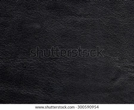 Texture of natural black leather.