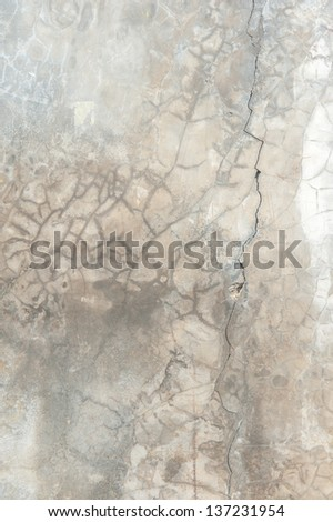 Texture of old concrete wall - stock photo