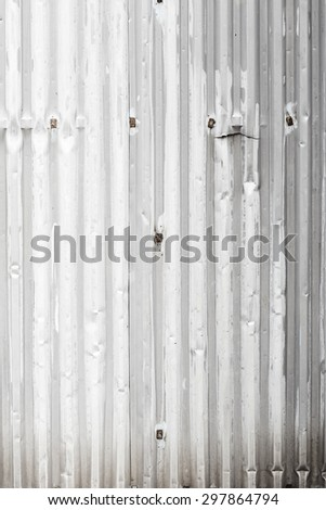 Texture of old grey iron surface. Grunge background