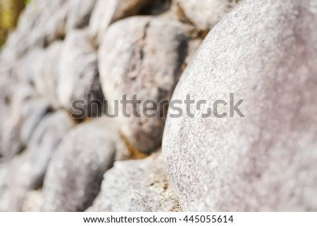 Texture of old stone wall for abstract background