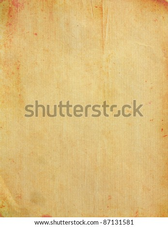 Texture of Old vintage paper for background