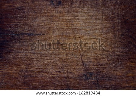 Texture of old wood dark nature background - stock photo