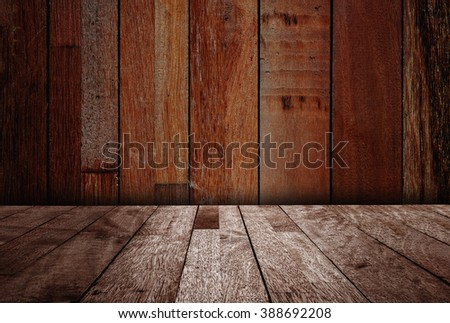 Texture of over dark wood with pattern for design