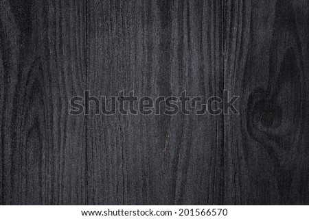 texture of painted pine wood with black semiglossy paint, high detailed - stock photo