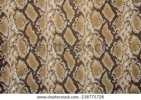 texture of print fabric stripes snake leather for background - stock photo