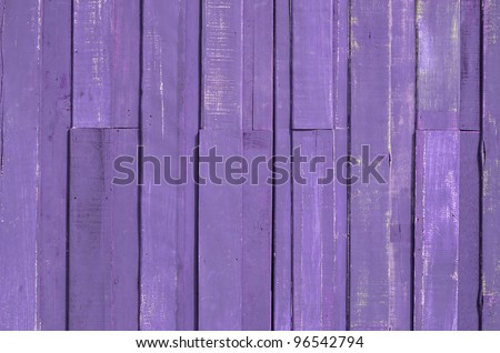 Texture of Purple color paint plank wall for background - stock photo