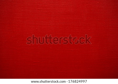 texture of red canvas