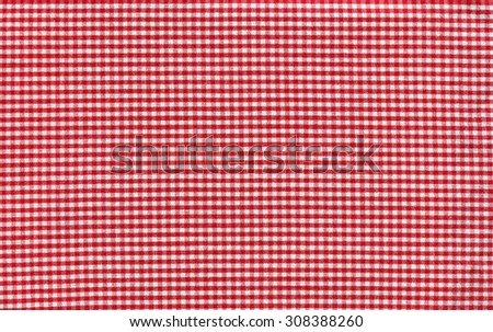 Texture of red cloth in the cellule as a background. Close-up. - stock photo