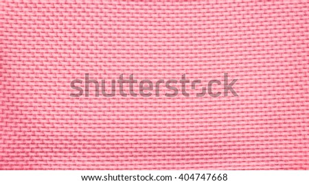 Texture of red knitted fabric - stock photo