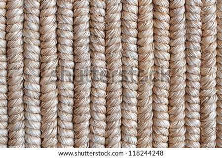 texture of reed mat - stock photo