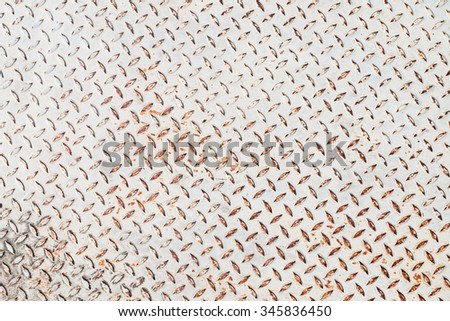 texture of rusty steel plate - stock photo