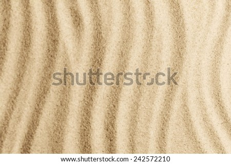 texture of sand, blurred - stock photo