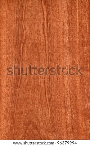 Texture of sapele (high-detailed wood texture series) - stock photo