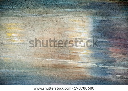 Texture of scratches and worn of cement, colored wall can be used as background - stock photo