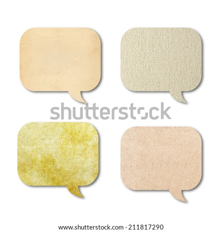 texture of speech bubbles