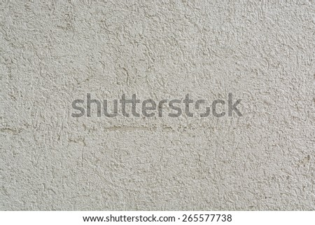 Texture of Striated Stucco Wall for use as decorative Background - stock photo