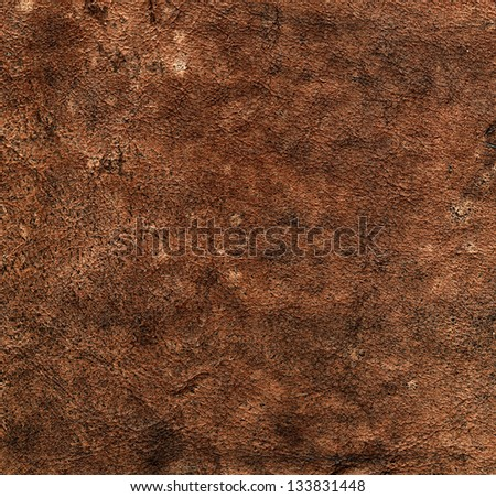 Texture of the Brown Leather