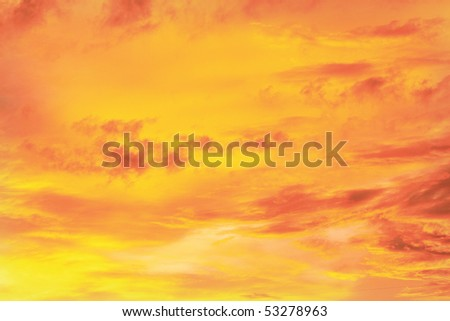texture of the cloud - stock photo