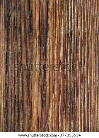 texture of the old boards are impregnated with drying oil