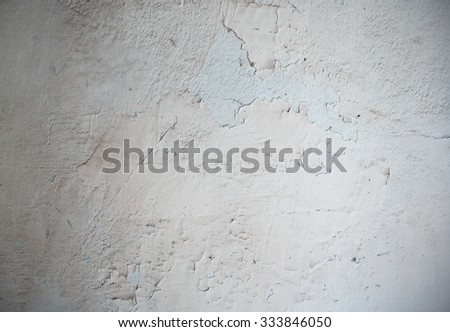 Texture of the old concrete wall. Horizontal photo - stock photo