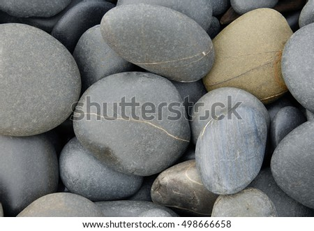 texture of the pebbles