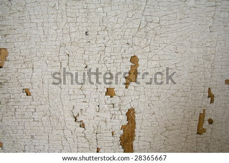 Texture of the robbed wall