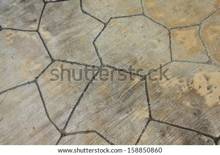 texture of the stone floor for background - stock photo