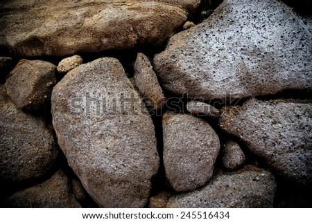 Texture of the stones - stock photo