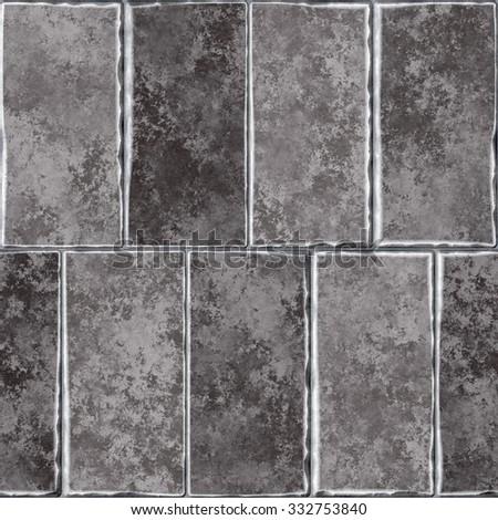 Texture of tile seamless background. - stock photo