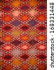 Texture of traditional tunisian carpet  - stock photo