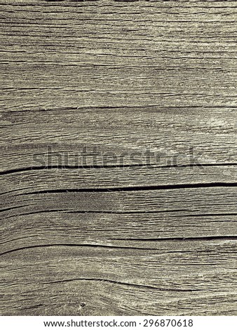 Texture of weathered wood - stock photo