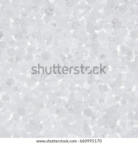 background polystyrene beads are close together - Polystyrene Beads