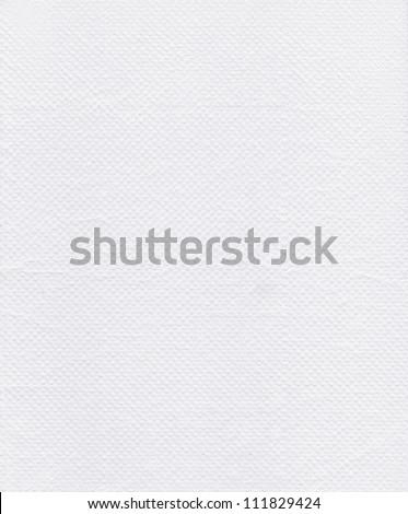 Texture of white tissue paper - stock photo