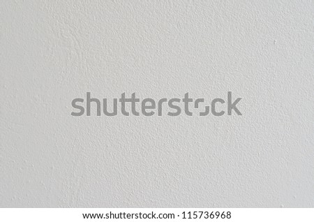 Texture of white wall, Thailand. - stock photo