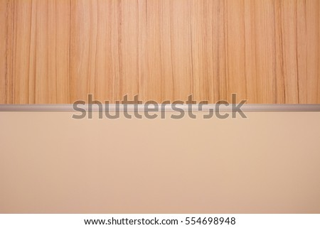 Texture of wood and white desk.