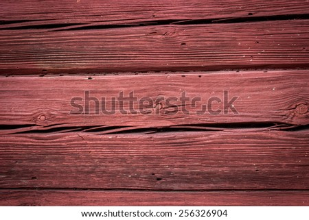 Texture of wood background old tree red brown - stock photo