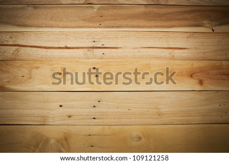texture of wood plank pattern as background - stock photo