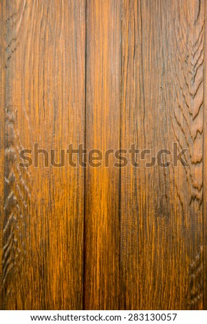 Texture of wooden panel, Thailand.