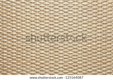 Texture of wooden weaving