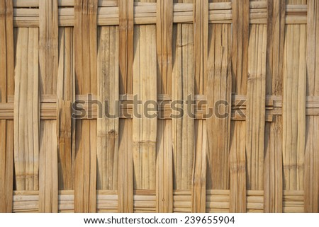 Texture of woven palm. - stock photo