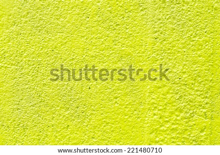 texture of yellow plaster wall background - stock photo