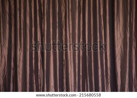 Texture or Background of curtain or drapery - stock photo