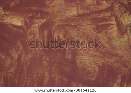 texture paint on the rusty iron industrial background