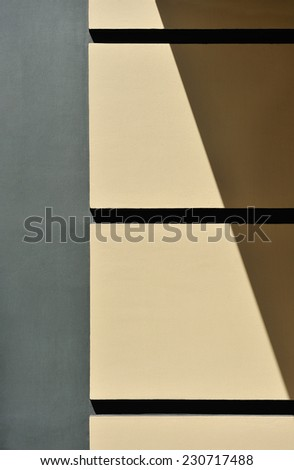 Texture painted walls at home.Detail of the architecture. - stock photo