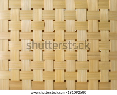 Texture pattern weave Brown plastic - stock photo