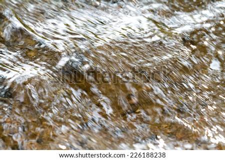 texture river creek stream - stock photo