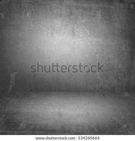 Texture room walls and floor - stock photo