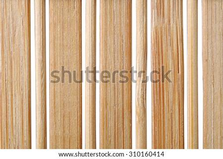 texture rug from bamboo sticks, macro - stock photo